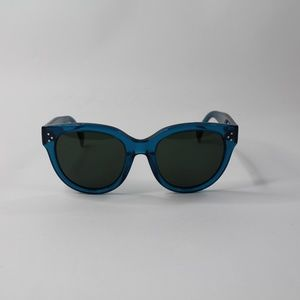 Celine Accessories - Celine Audrey Acetate Sunglasses Transparent Blue